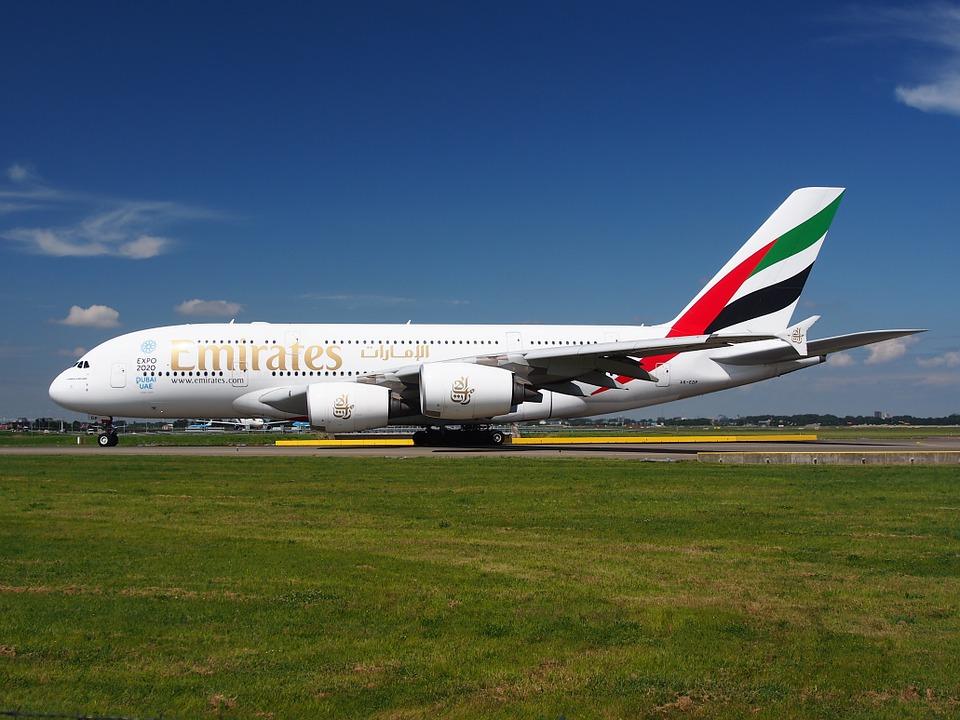 Airbus A380 Emirates.