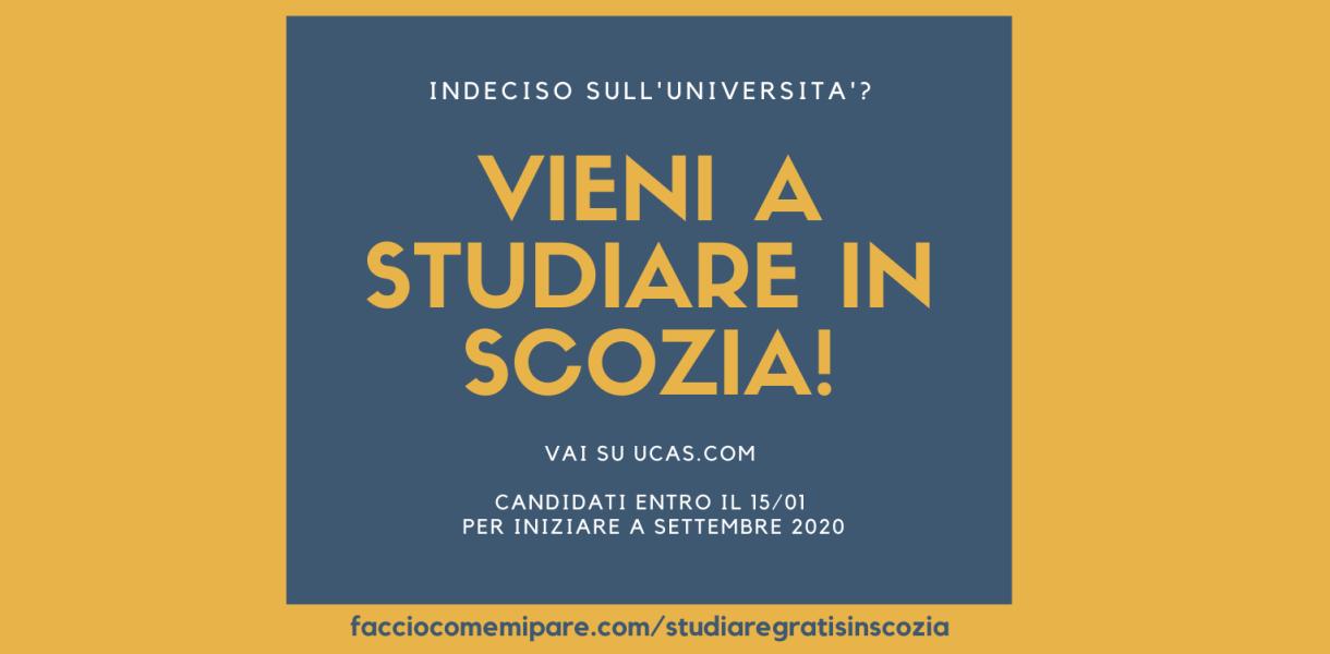 STUDIARE IN SCOZIA, STUDIARE GRATIS SCOZIA, STUDIARE ABERDEEN, ABERDEEN, STUDIARE GRATIS ABERDEEN, UNIVERSITA' GRATIS SCOZIA, UNIVERSITA' GRATIS EDINBURGO, STUDIARE EDINBURGO