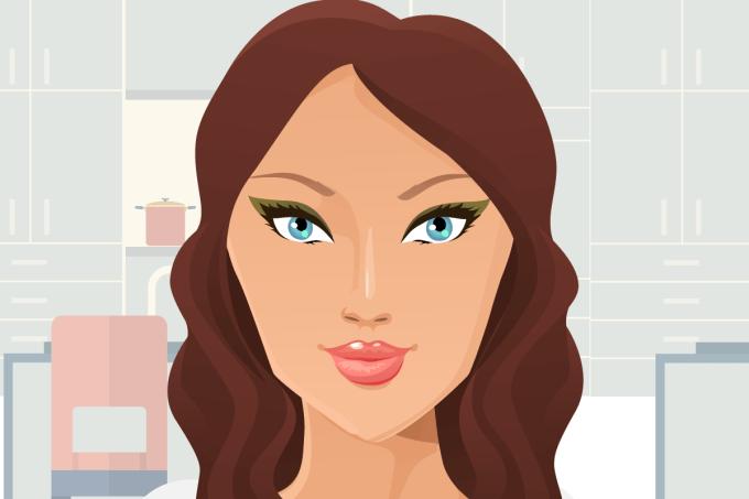 what's my face shape - diamond face shape