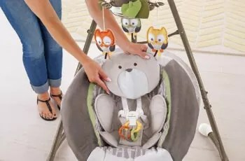 baby swings with ac adapters