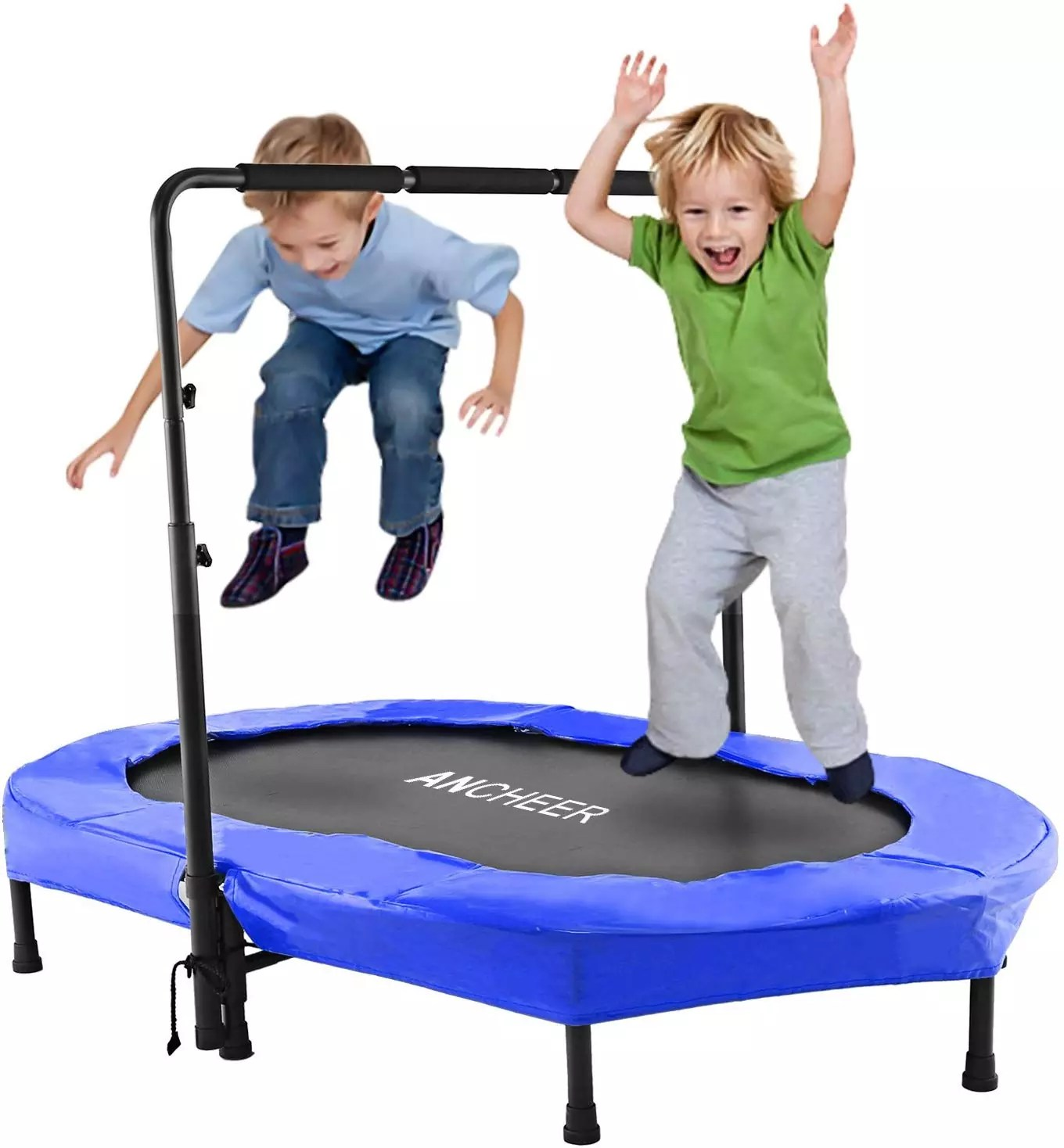 ANCHEER Mini Trampoline for Two Kids, Parent-Child Trampoline