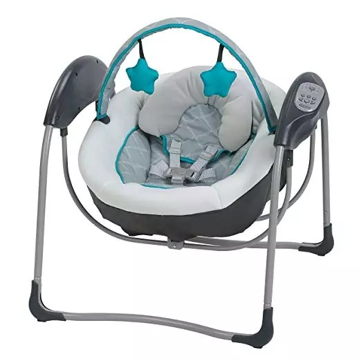 1.Graco Glider Lite Baby Swing