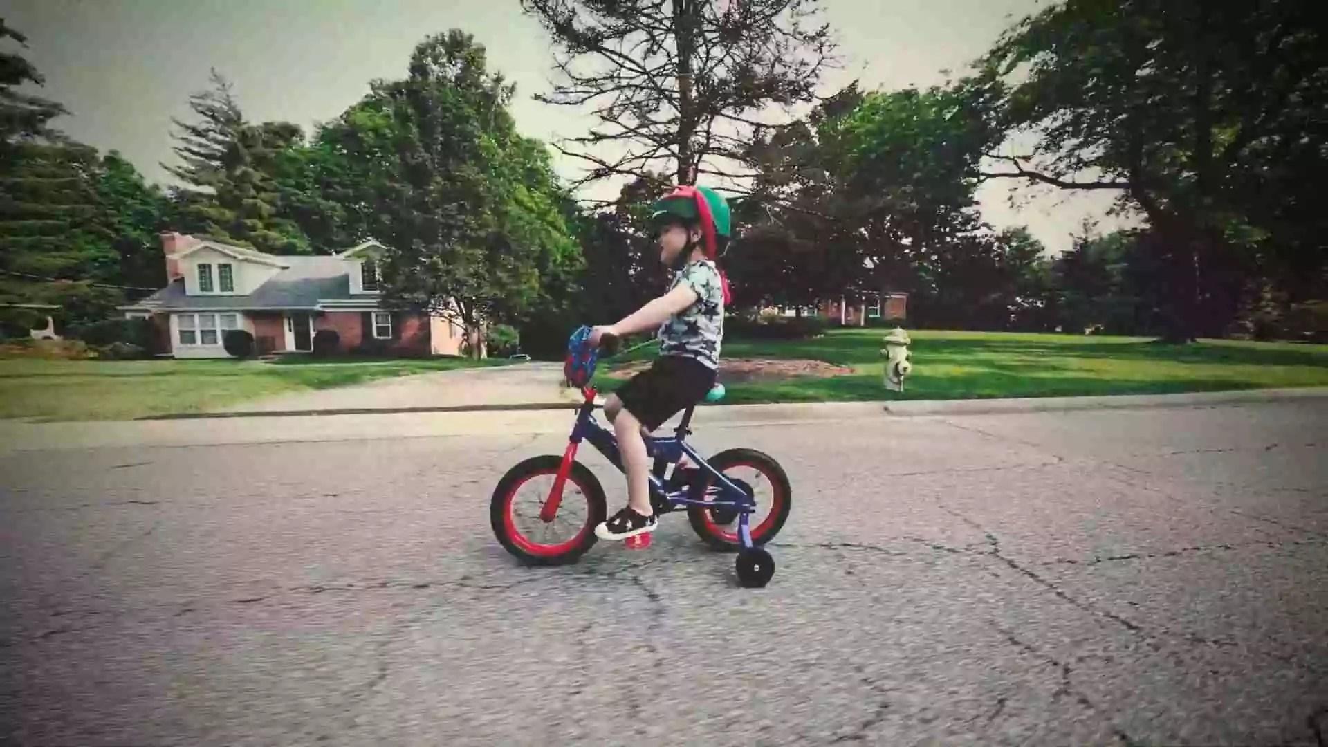 Kid Needs To Wear A Helmet