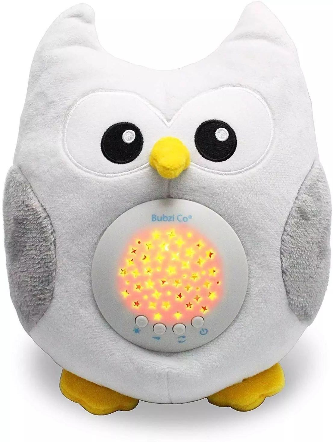 Baby Soother Toys Owl Sleep Aid Night Light