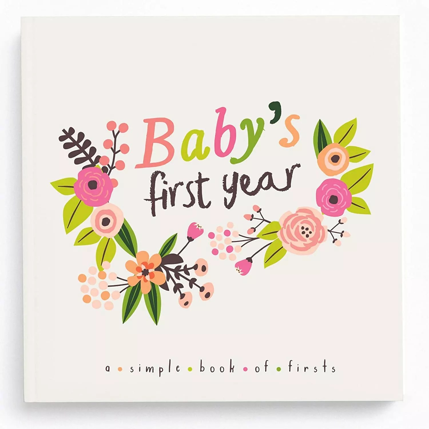 Lucy Darling Baby's First Year Memory Book- Little Artist Baby Journal