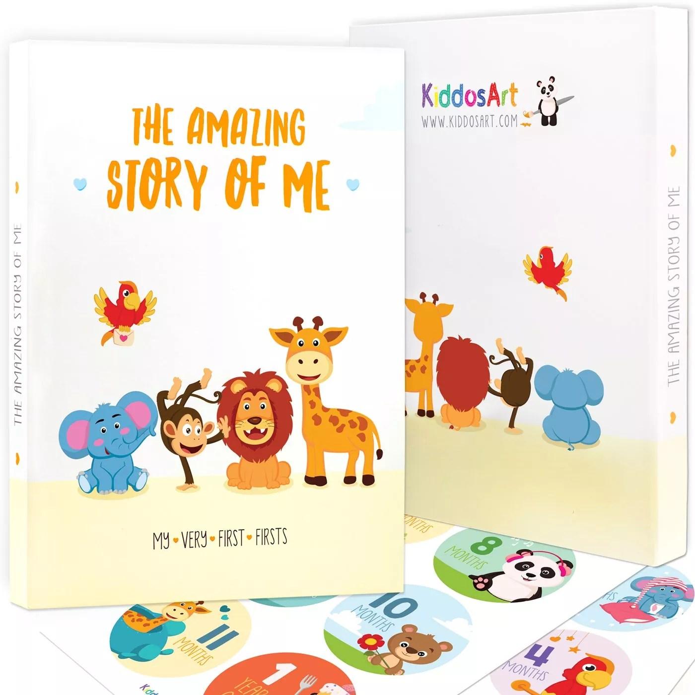 The Amazing Baby Memory Book by KiddosArt-Keepsake Journal