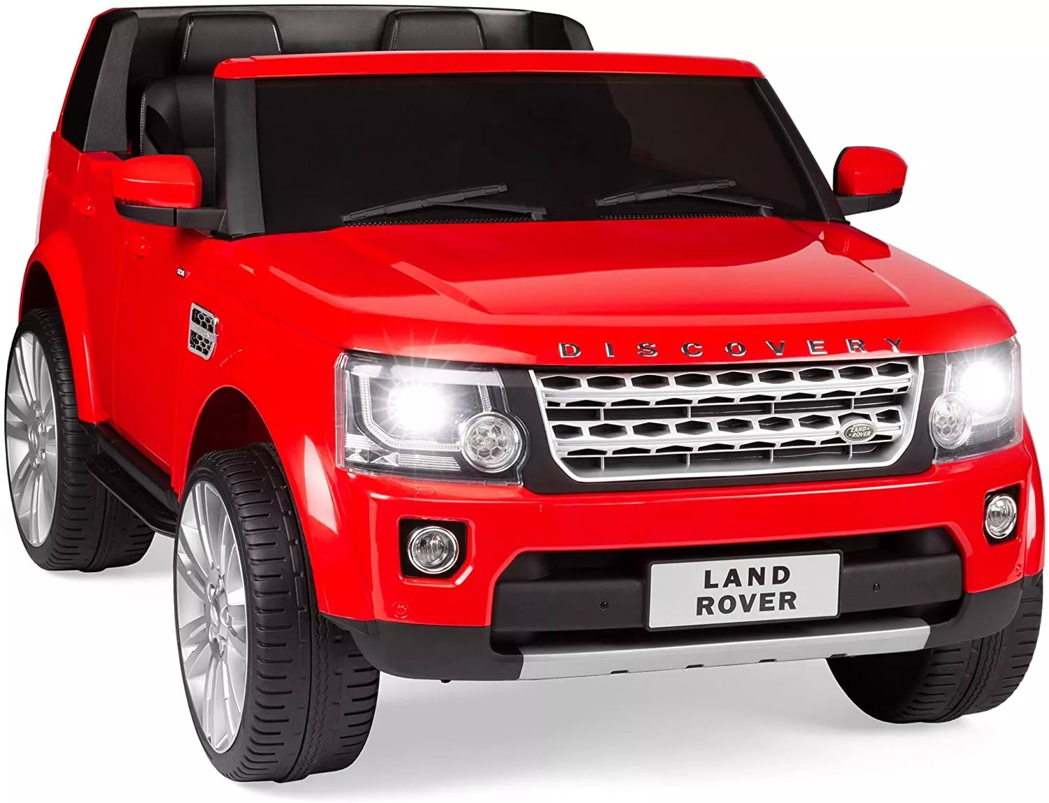 Best Choice Products Kids 12V 2-Seater Licensed Land Rover Ride On