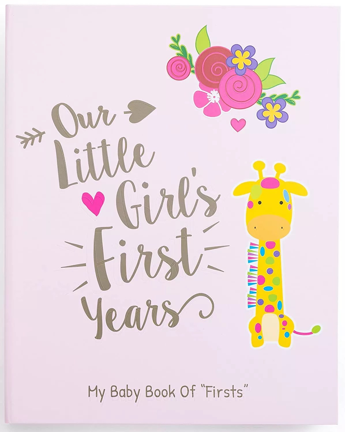 Ronica Memory Book for Baby Girl - Photo Album
