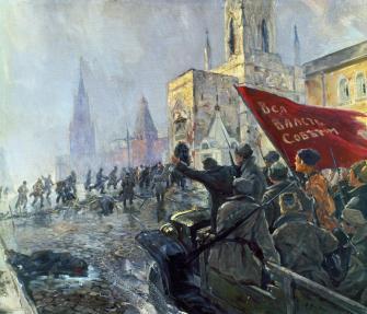 oktoberrevolution 1917