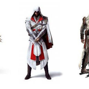 Assassins Creed White Facebook Cover  Brands