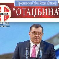 НП Отаџбина: На несрећи Срба са КиМ Додик би да гради срећу РС ?