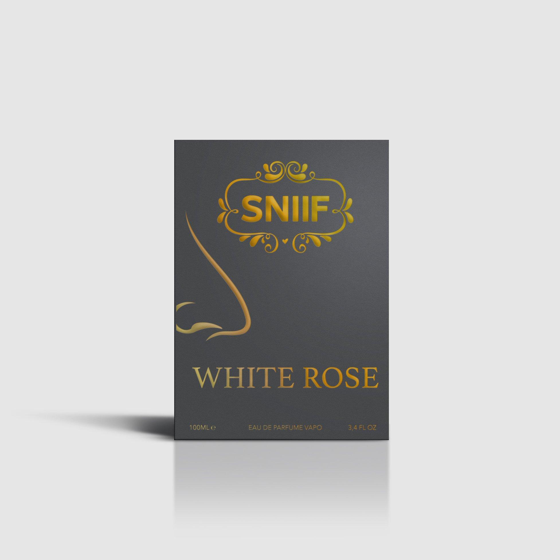 Sniif Profumo White Rose 100ml - Face Complex Cosmetics
