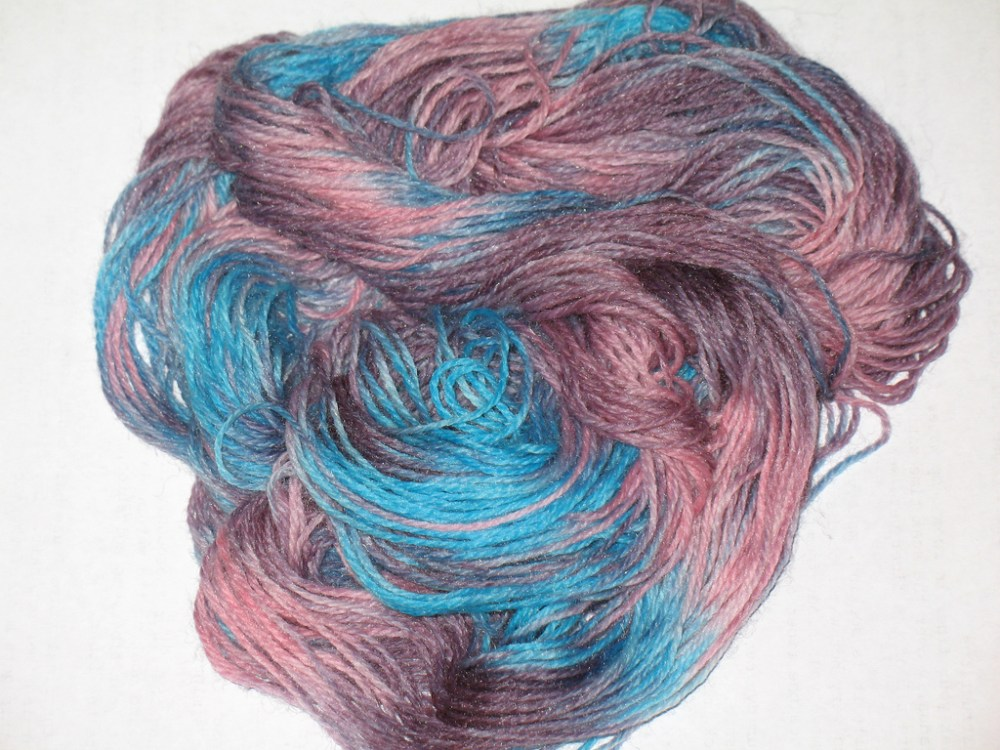 Cinderella Yarn, or The End of the Ugly Mohair... (3/6)