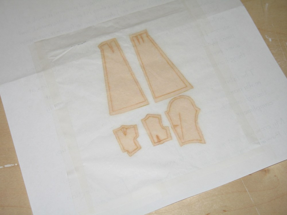 How to Print a Miniature Pattern on Tissue Paper (3/6)