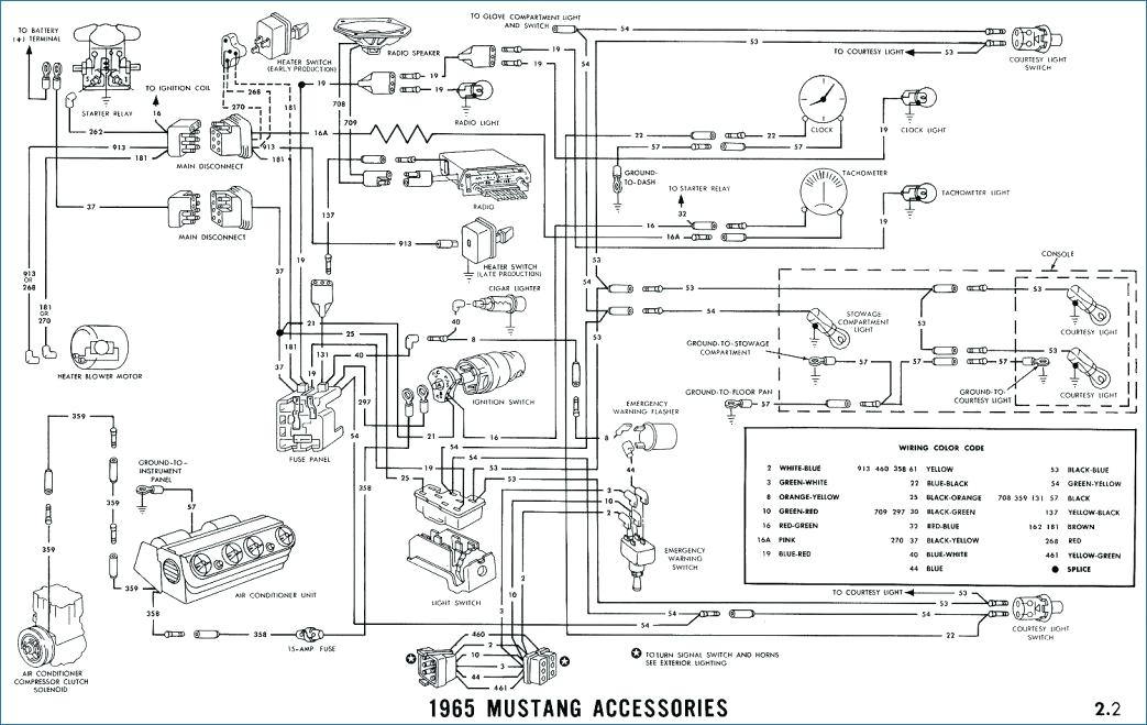 1965 mustang heater blower motor diagram wiring schematic