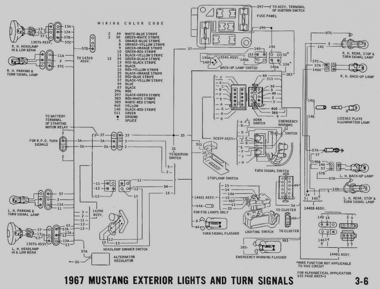1967 Ford Electrical Diagram • Wiring Diagram For Free