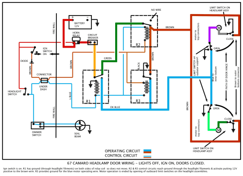 small resolution of 1969 chevy camaro wiring diagram wiring diagram basic 1969 camaro factory tach wiring color