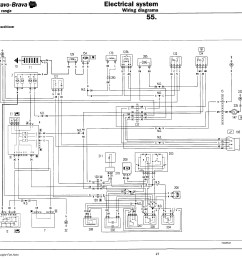 fiat punto electrical wiring diagram wiring librarywiring diagram for fiat 128 sedan content resource of wiring [ 3376 x 3320 Pixel ]