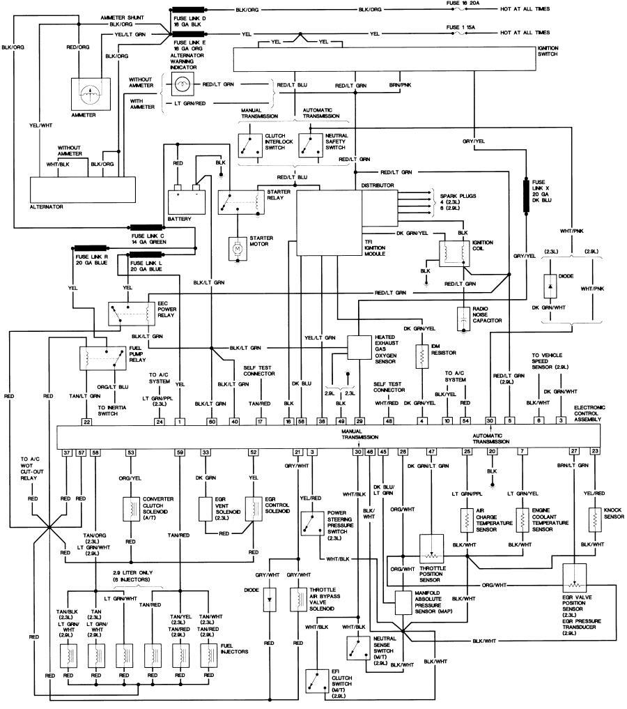 medium resolution of 1988 f 150 wiring radio simple electronic circuits u2022 1988 isuzu pickup wiring 1988 ford pickup wiring diagram