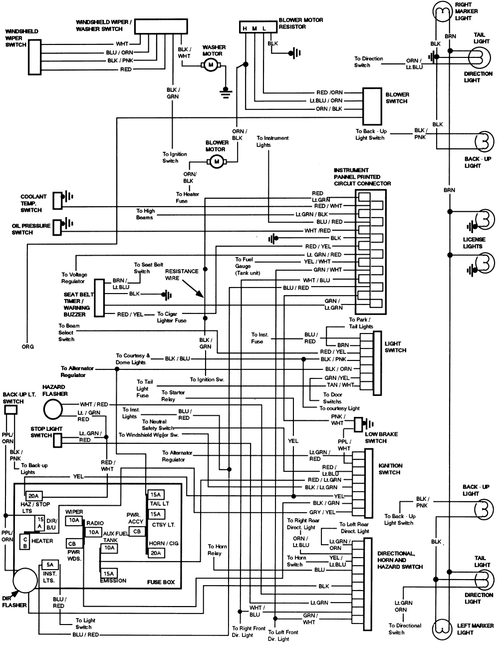 Diagram  Looking For Radio And Speaker Wiring Diagrams For 1989 Wiring Diagram Full Version Hd