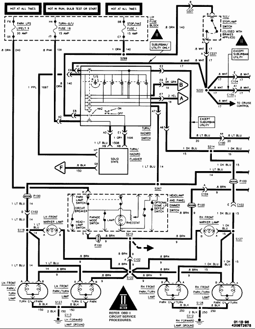 Light Wiring Diagram For 1979 Chevy Silverado
