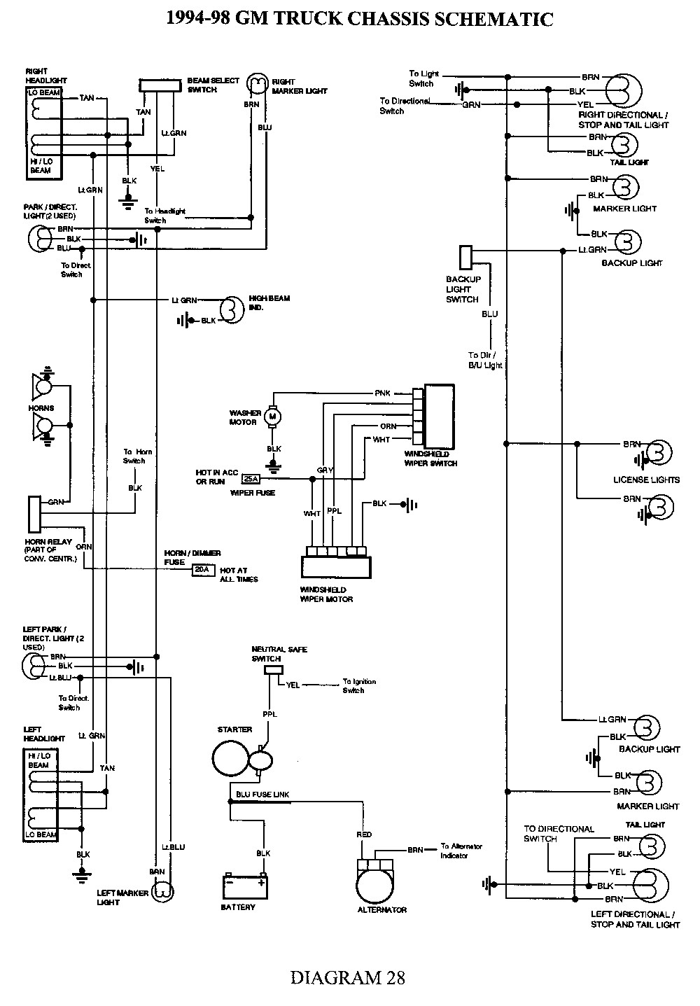 1983 chevy wiring harness wiring diagram