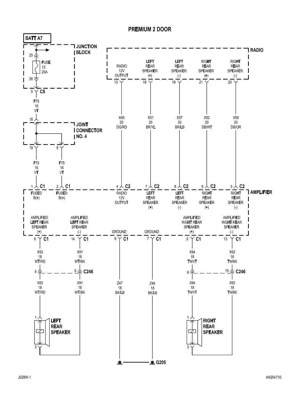 hight resolution of 1997 dodge dakota radio wiring diagram download wiring diagram sample rh faceitsalon com 2002 dodge durango