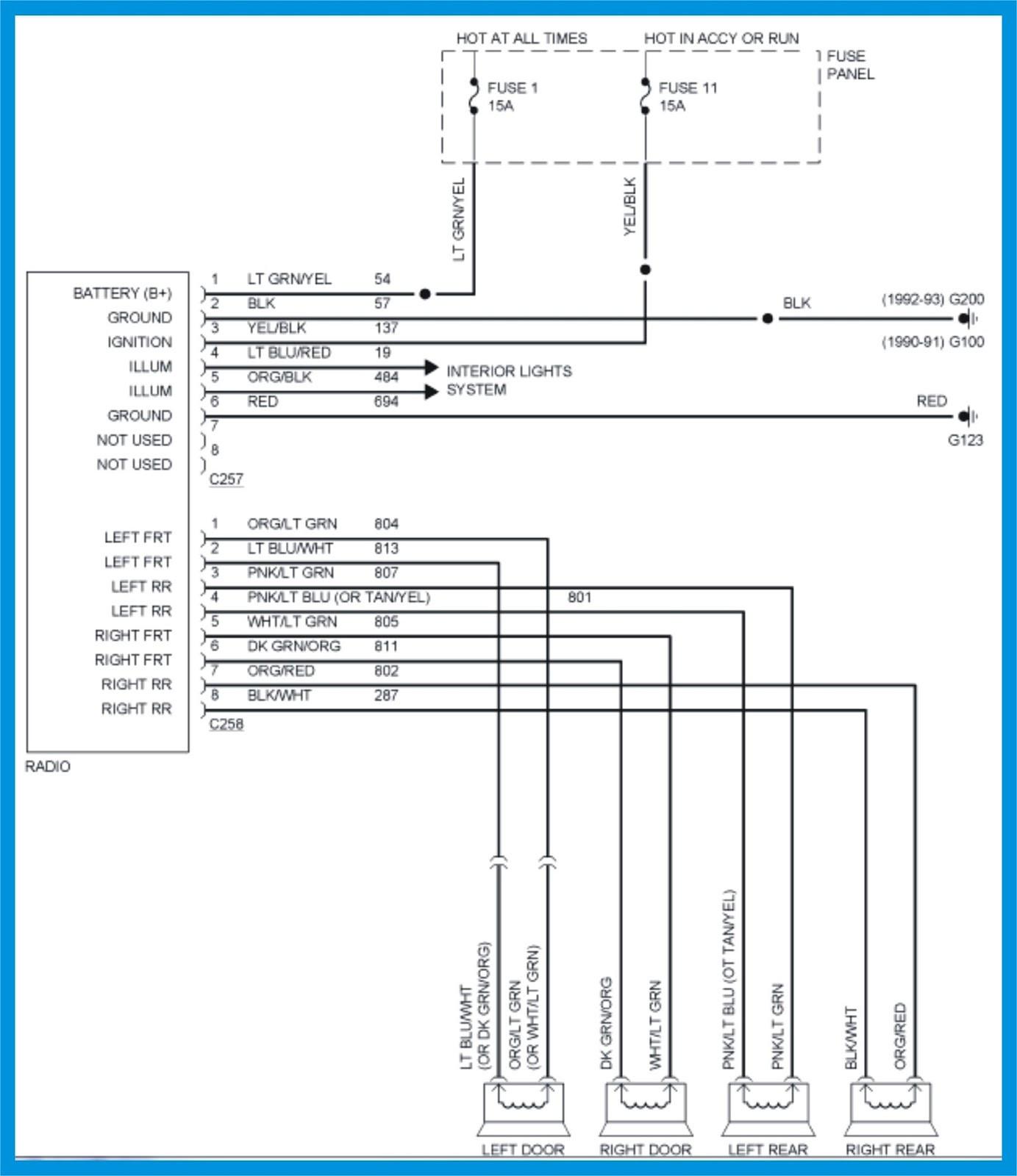 91 ford e 350 fuse box diagram wiring diagrams folder 2000 ford e350 fuse box diagram get