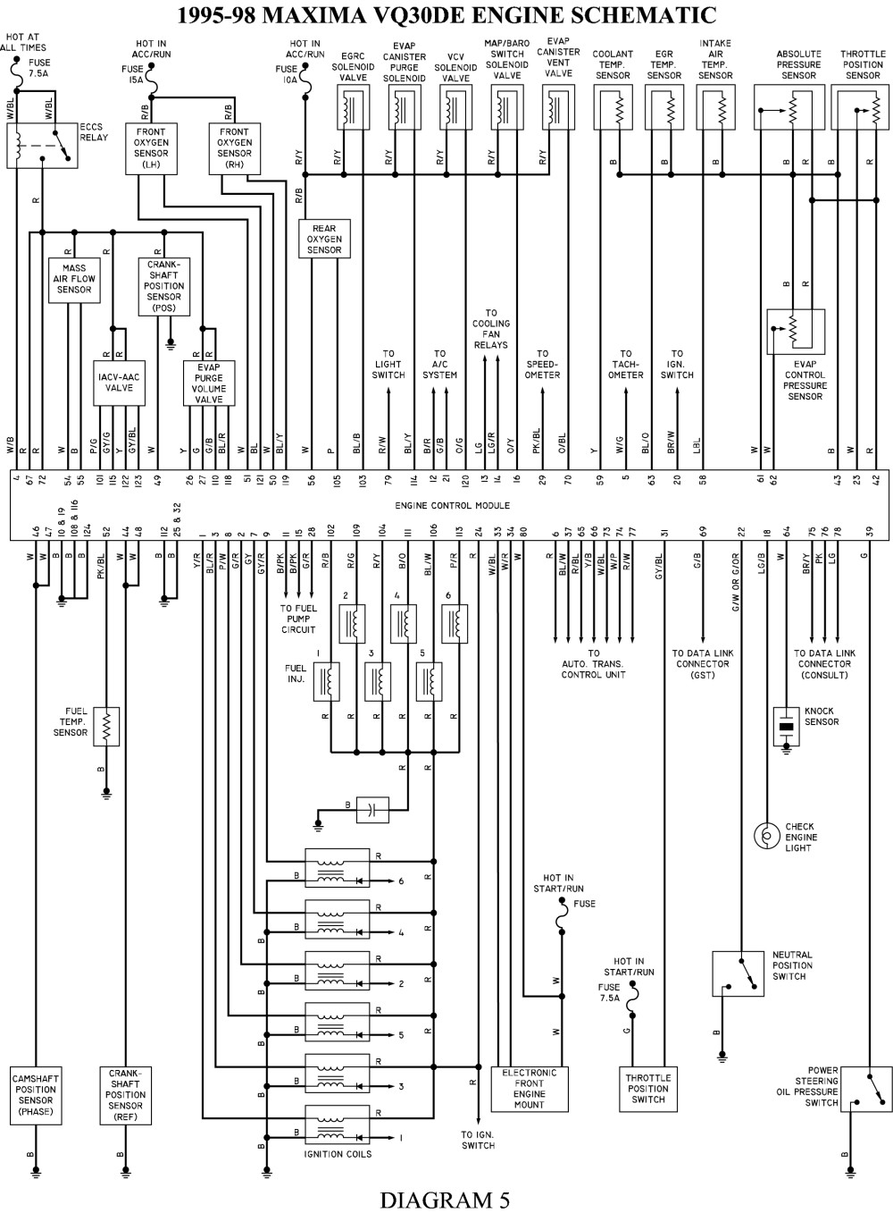[WRG-3209] Nissan Sentra Alternator Wiring Diagram