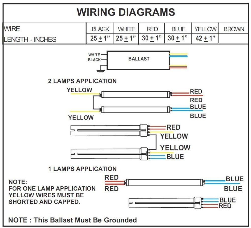 medium resolution of 2 lamp t12 ballast wiring diagram download ge 2 ft and 4 t5 120 lamp