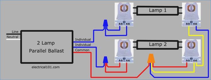 2 lamp wiring diagram wiring diagrams programmed start ballast