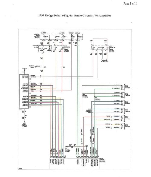 small resolution of 99 dakota stereo wiring wiring diagram article review mix 99 dakota wiring diagram wiring diagram autovehicle2001