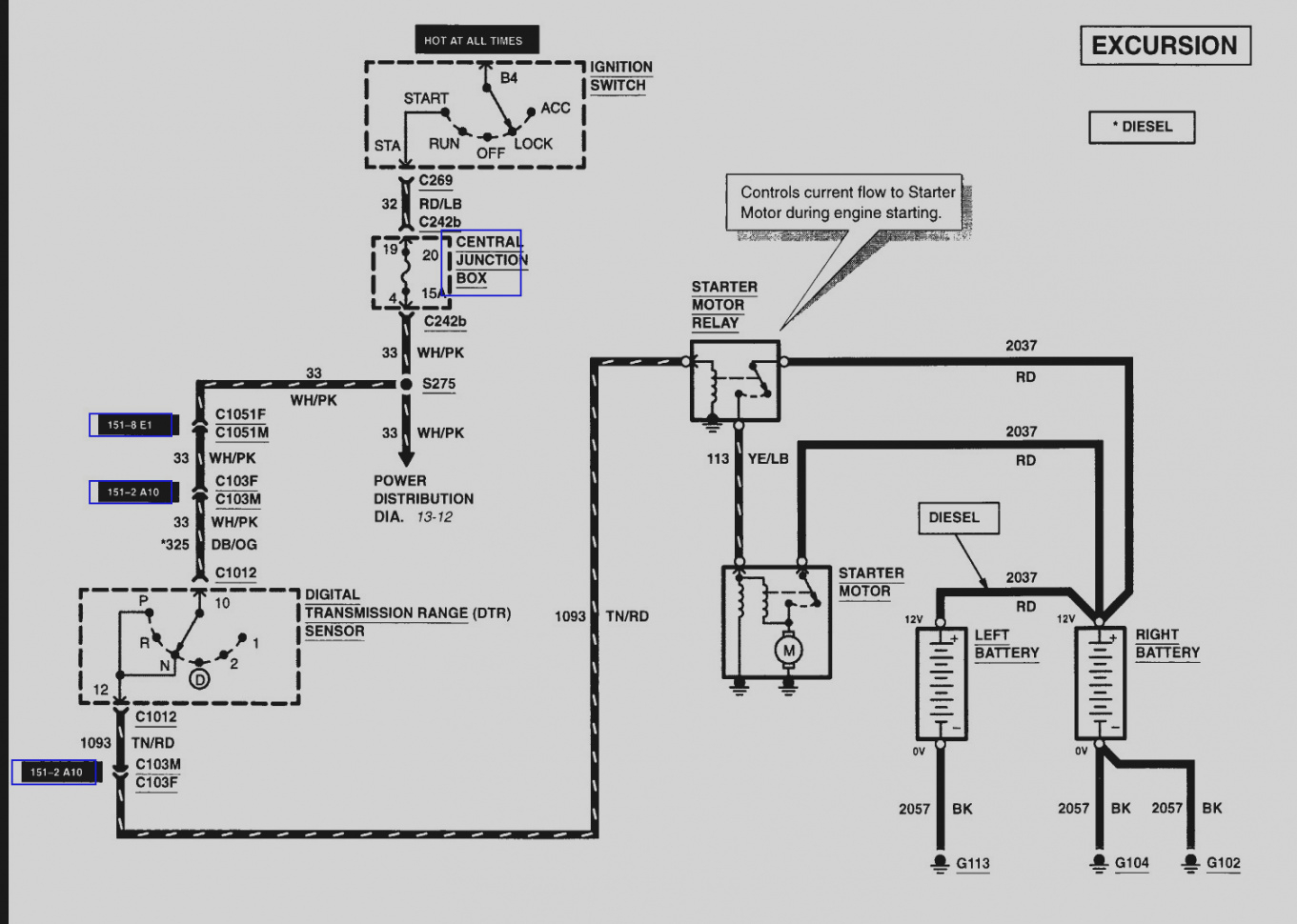2000 Expedition Fuse Box Diagram Sealed Low Voltage