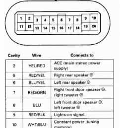 2000 honda civic radio wiring diagram [ 800 x 1833 Pixel ]