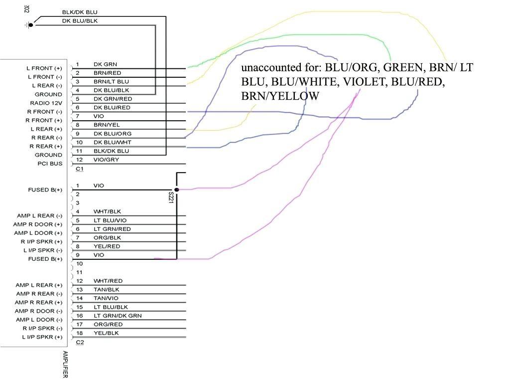 dodge ram stereo wiring diagram 2001