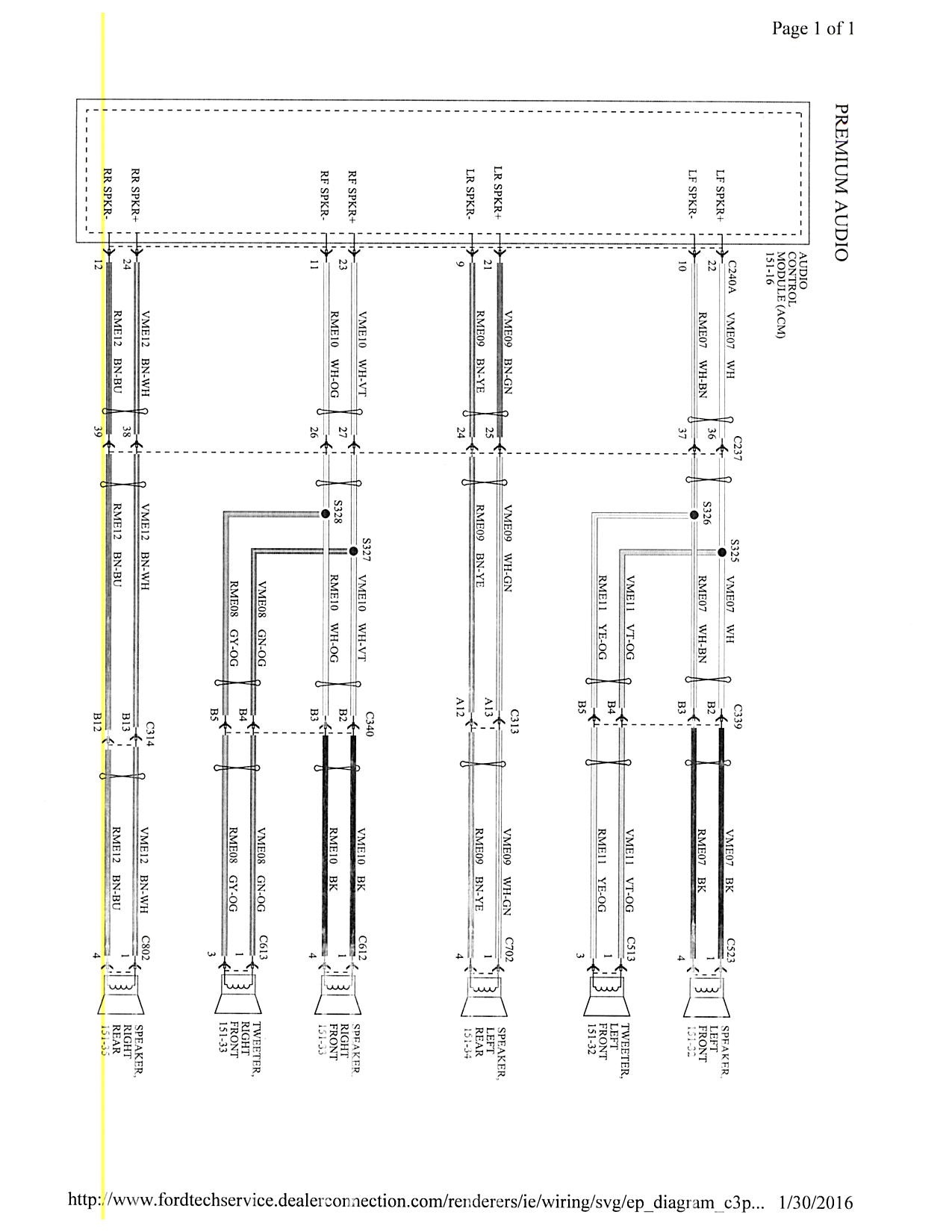 ford focus stereo wiring diagram 2000 asco 2003 radio download