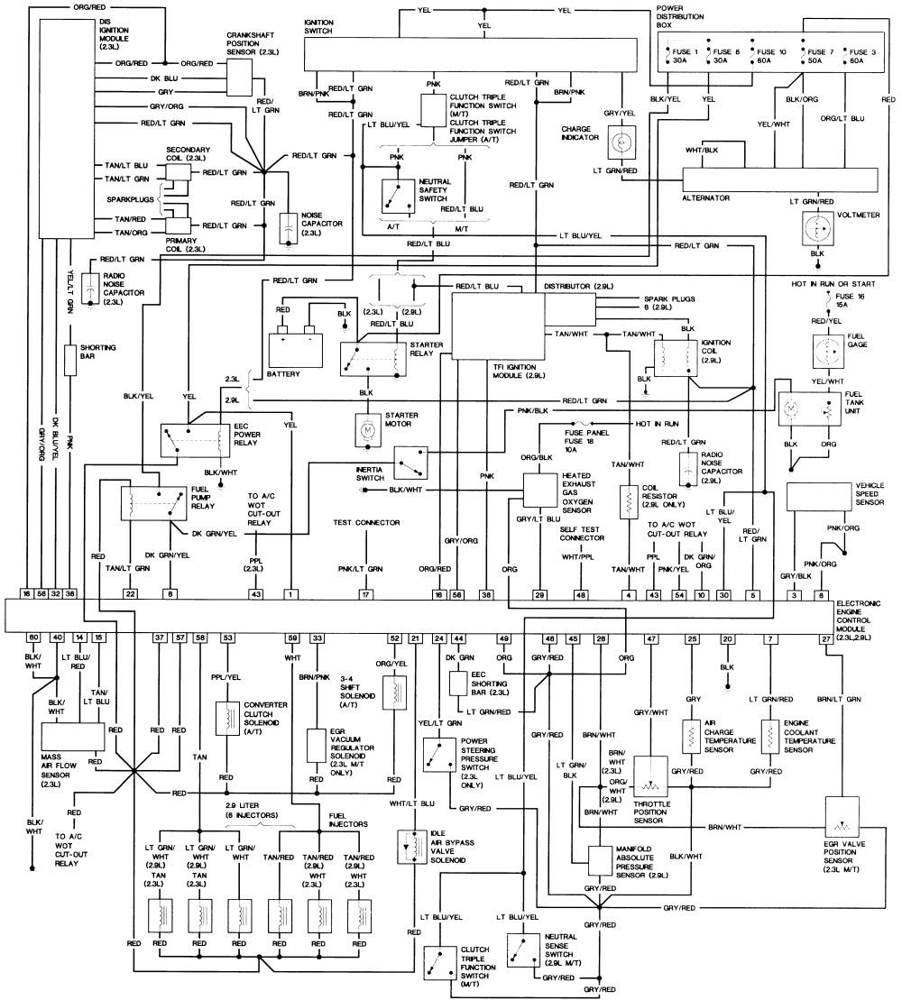 2000 Ford Taurus Wiring Schematic. 2000 ford ranger radio