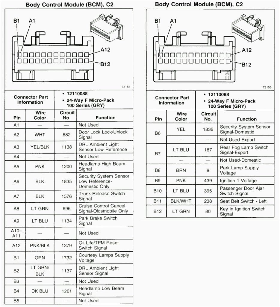 2006 Chevy Stereo Wiring Diagram