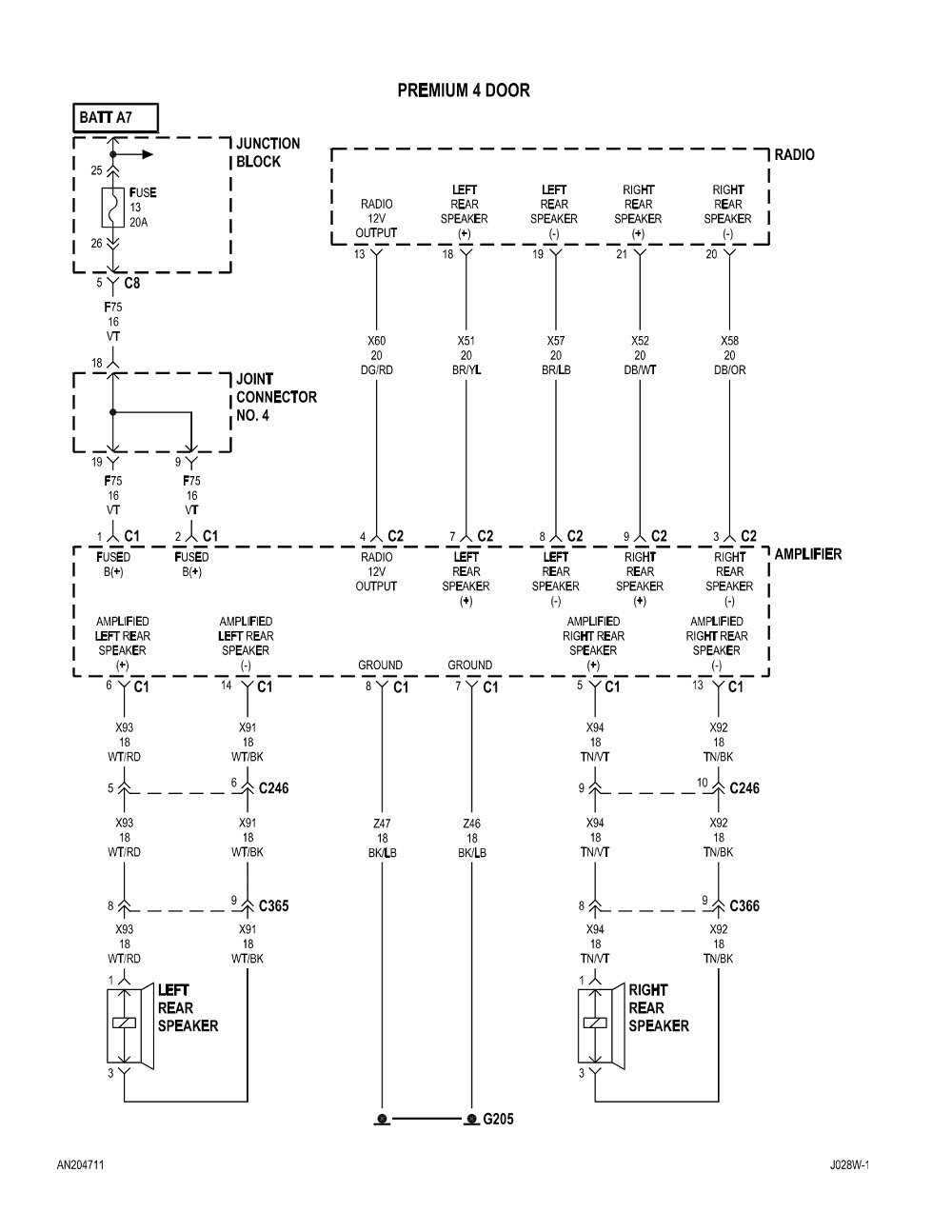 medium resolution of 2004 dodge dakota radio wiring diagram collection 2003 dodge durango radio wiring diagram 2