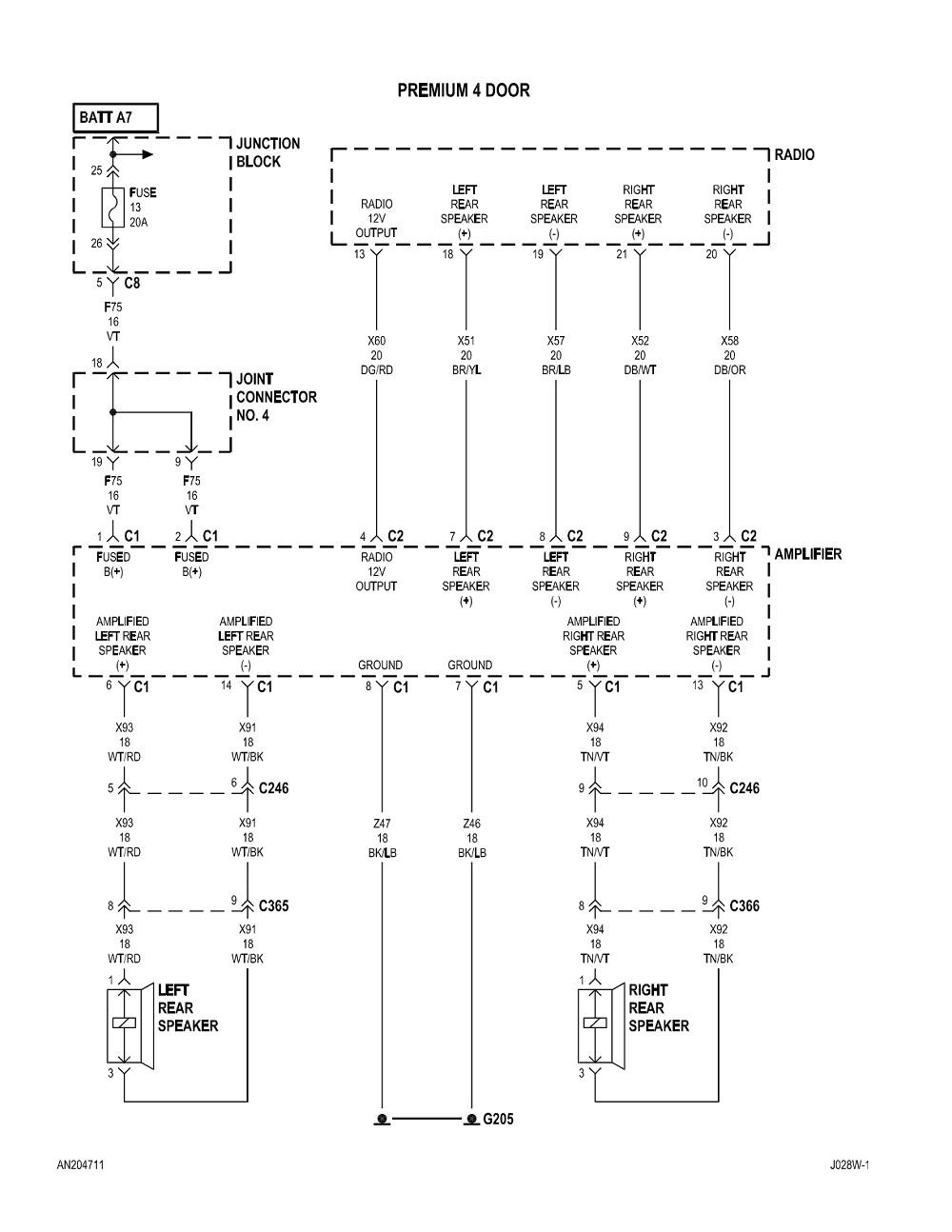 hight resolution of 2004 dodge dakota radio wiring diagram collection 2003 dodge durango radio wiring diagram 2