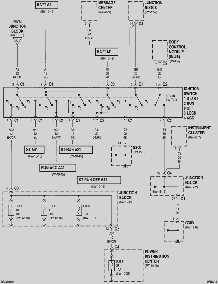 2005 Dodge Grand Caravan Electrical Diagram Starter