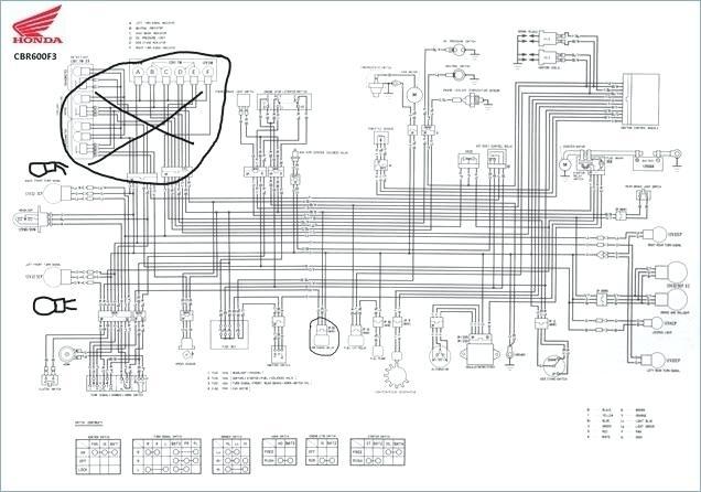 2007 Honda Cbr600rr Wiring Diagram. . Wiring Diagram