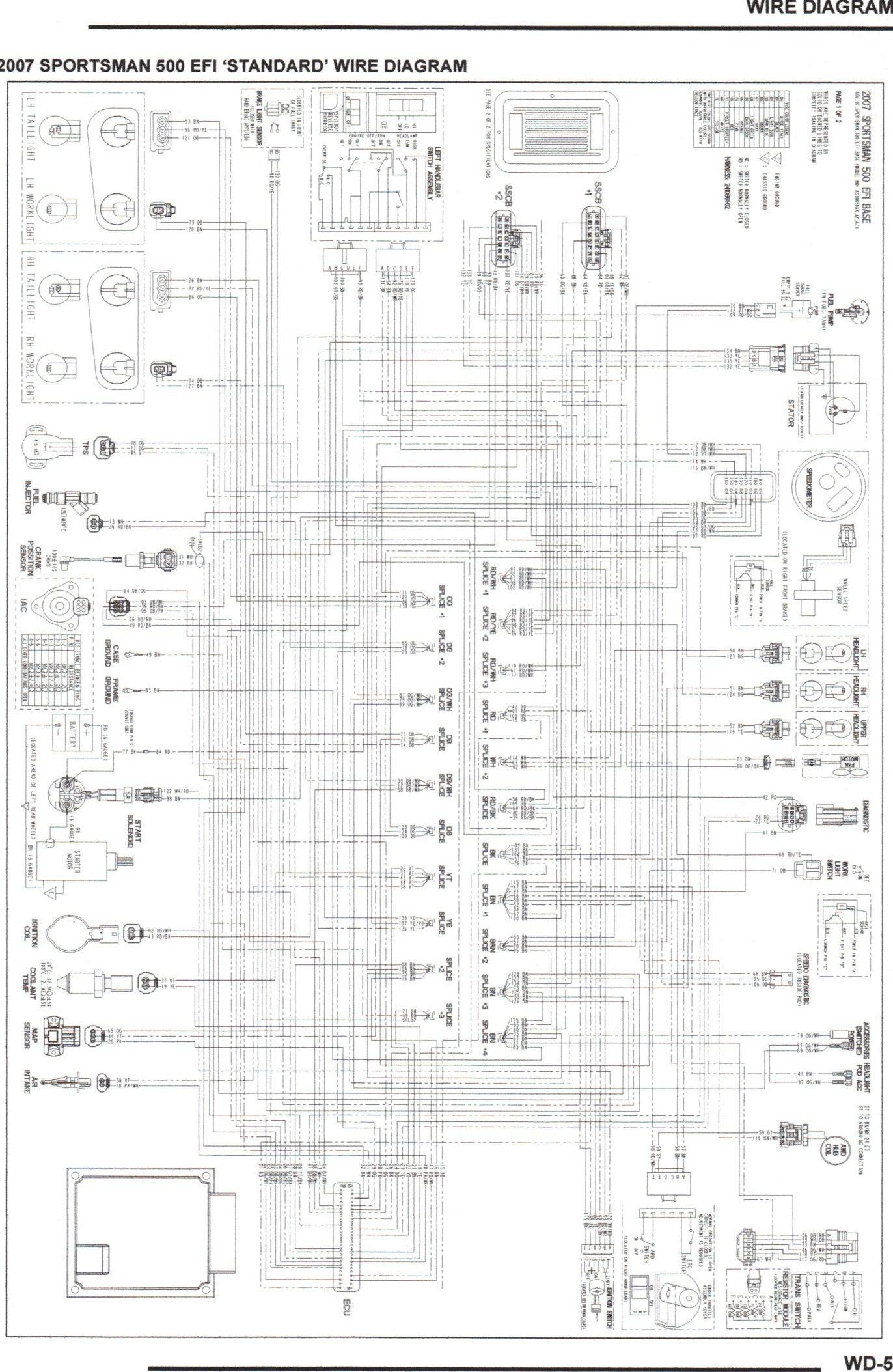 2007 polaris wiring diagram wiring diagram
