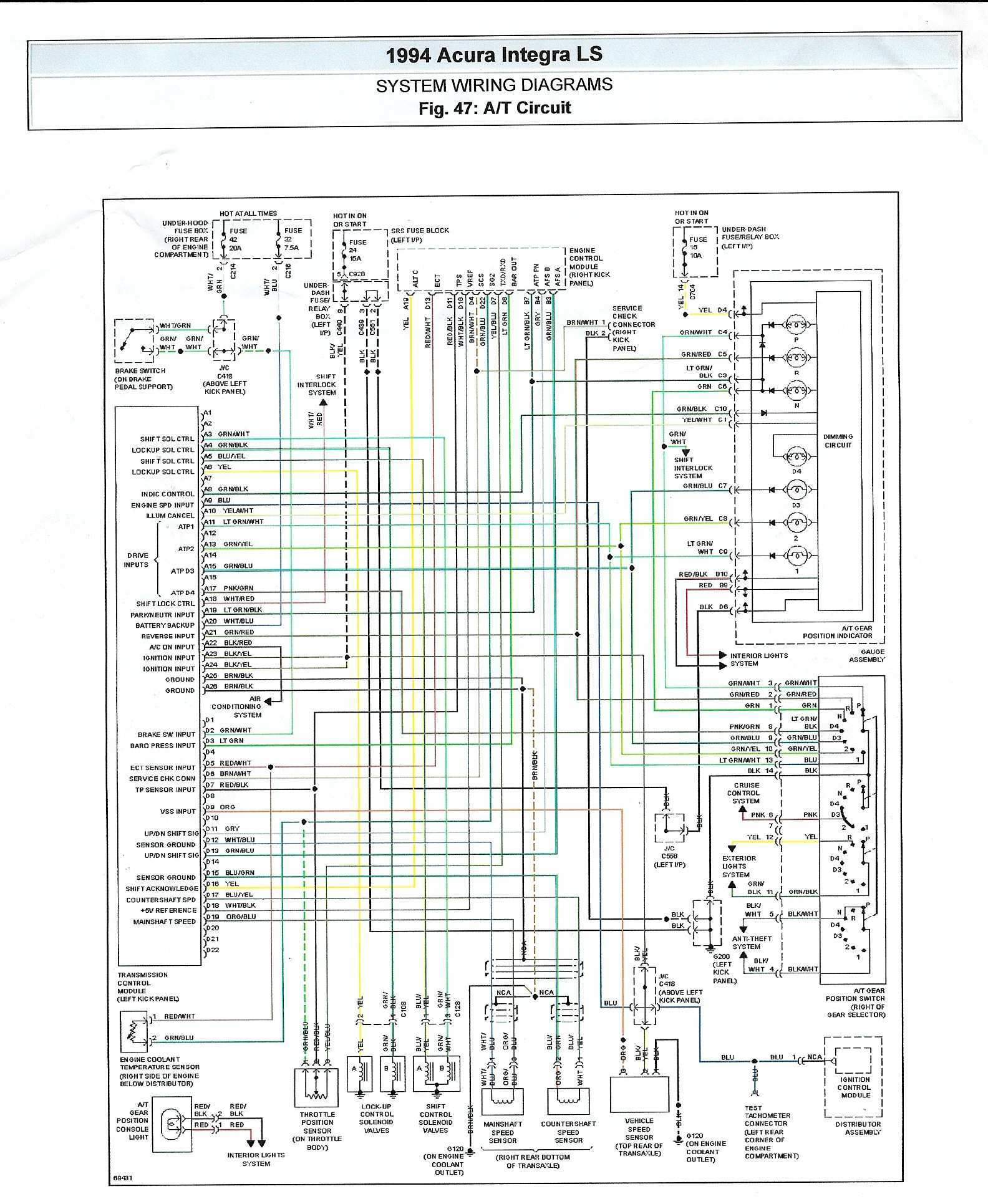 honda accord radio wiring diagram 2001 jeep cherokee 1991 library