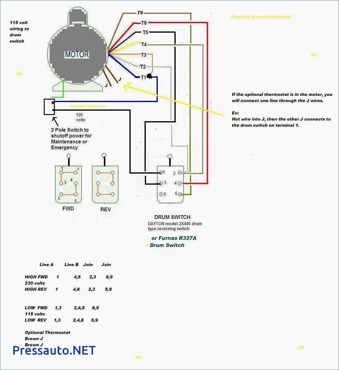 single phase motor wiring diagram capacitor start ez go textron gas 240v collection 240 volt fresh