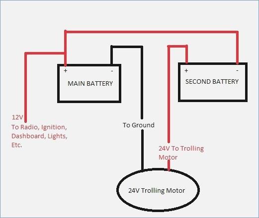 Wiring Diagram For 24 Volt Minn Kota Trolling Motor