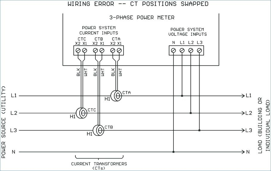 3 phase current transformer wiring diagram sample wiring diagram