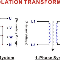 3 Phase Autotransformer Wiring Diagram For Extractor Fan Isolation Transformer Sample Collection Single Step Down