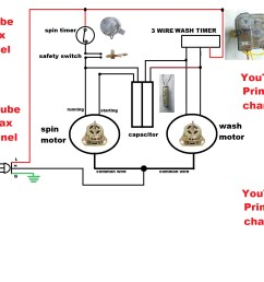 3 wire washing machine motor wiring diagram collection 3 wier timer diagram connection simple washing [ 1600 x 1333 Pixel ]