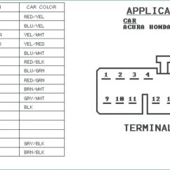 98 Honda Civic Radio Wiring Diagram Simple Light Switch Sample Collection Besides